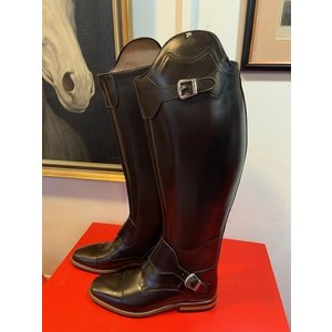 Petrie Polo Boots 25% discount  P004-6.0 Petrie Polo Rome in dark brown calf leather 47-42