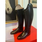 Petrie Dressage Boots 25% Discount D023-5.0  Petrie Anky Elegance in black calf leather+ Swarowski UK size 5.0 43-38.5-37.5