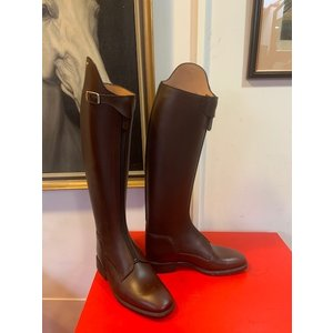 Petrie Polo Boots 25% discount P013-4.0 Petrie Athene Polo brown calf leather UK size 4.0 44-34-33