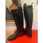 Petrie Jumping Boots (laced) 25% discount J008-4.0 Aberdeen laced riding boot with elastic section  black UK 4.0 40-38-35