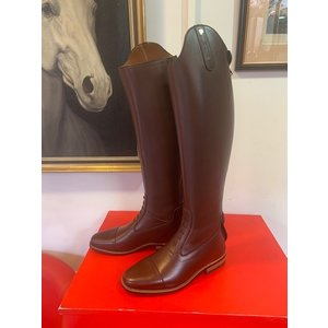 Petrie Jumping Boots (laced) 25% discount J015-5.0 Petrie Coventry brown rind leather UK size 5.0 47-35 XHE