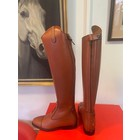 Petrie Jumping Boots (laced) 25% discount J016-5.0 Petrie Aberdeen cognac rind leather UK size 5.0 49-35 XXHE