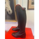 Petrie Boots J013-5.0 Petrie Mila black Laced Ridingboot with whipholder with Swarowski 5.0 47-33 NX