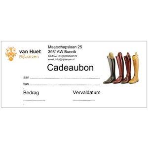 Cadeaubon t.w.v. € 75,00