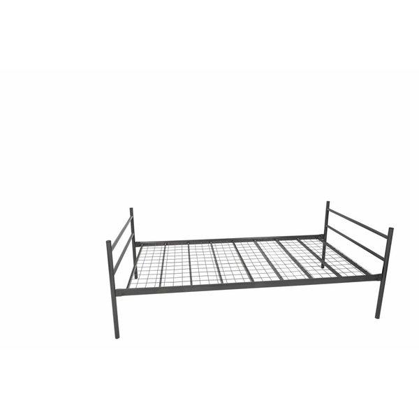 Stalen bed eenpersoons