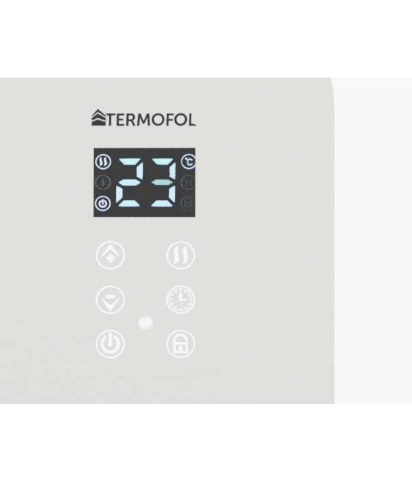 Termofol Elektrische Kachel verwarming – Glazen paneelverwarmer met thermostaat (WiFi) - 1500 W