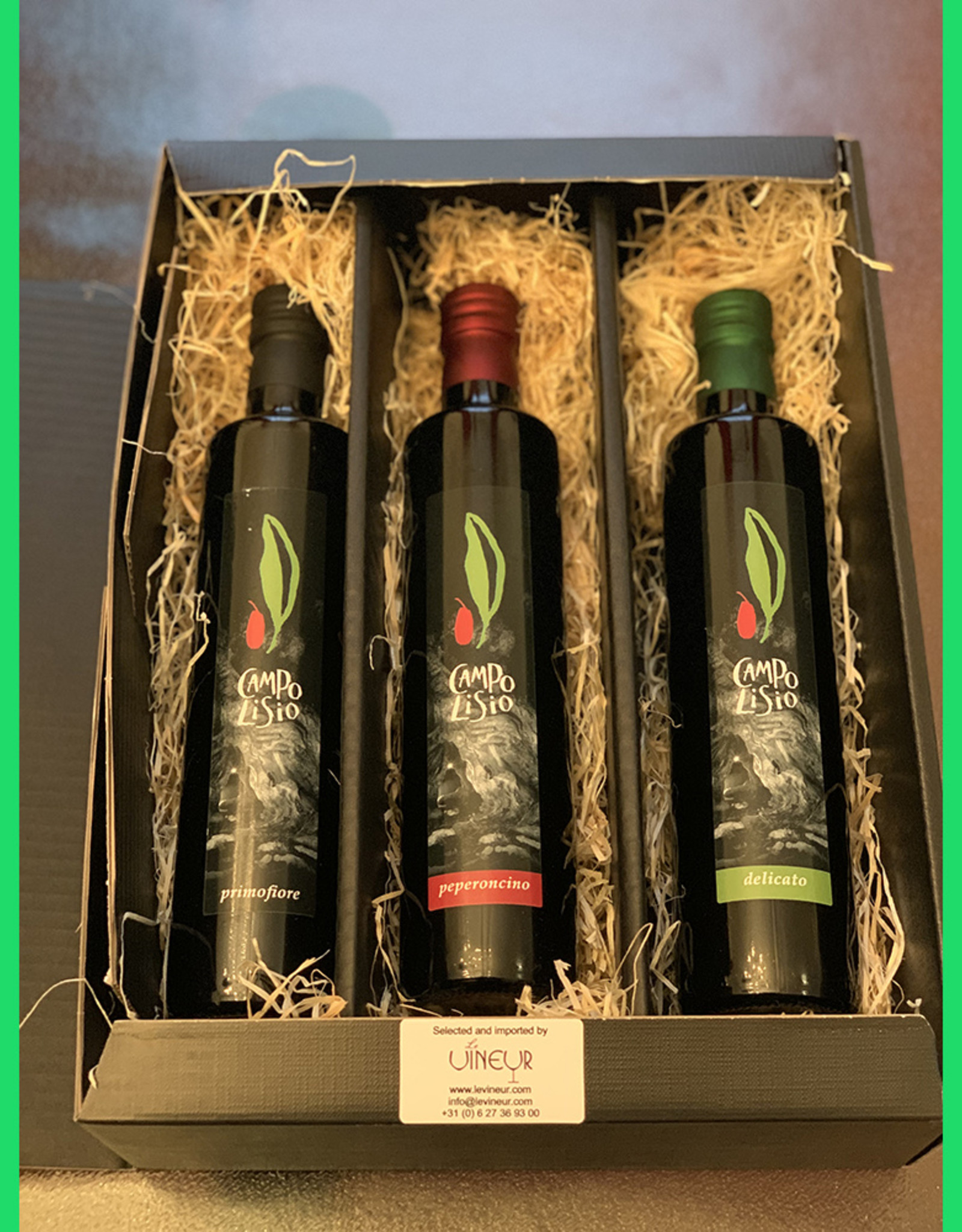 Gift set Campo Lisio biological Olive oil