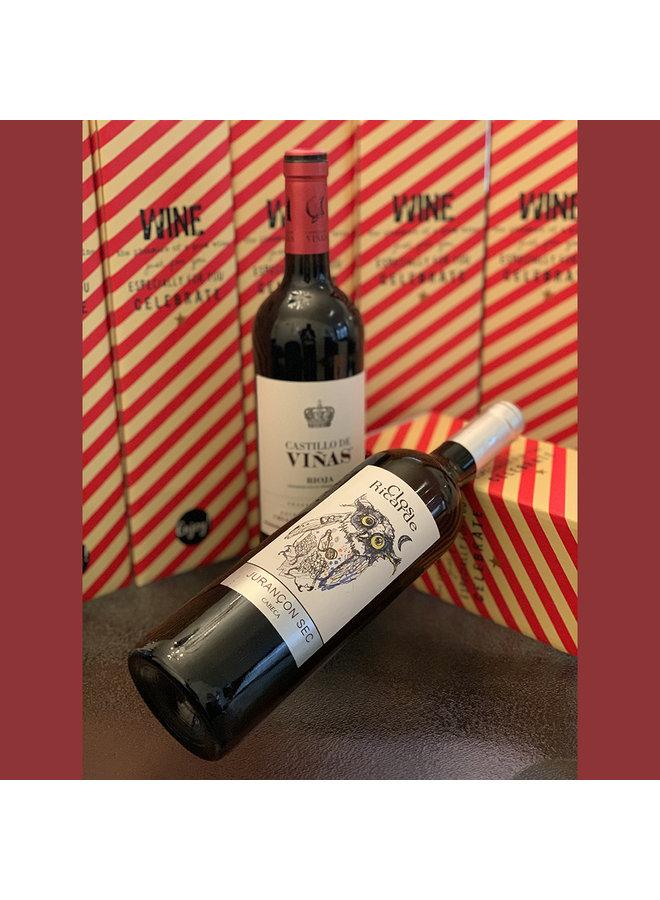 Wijnfles in cadeau box