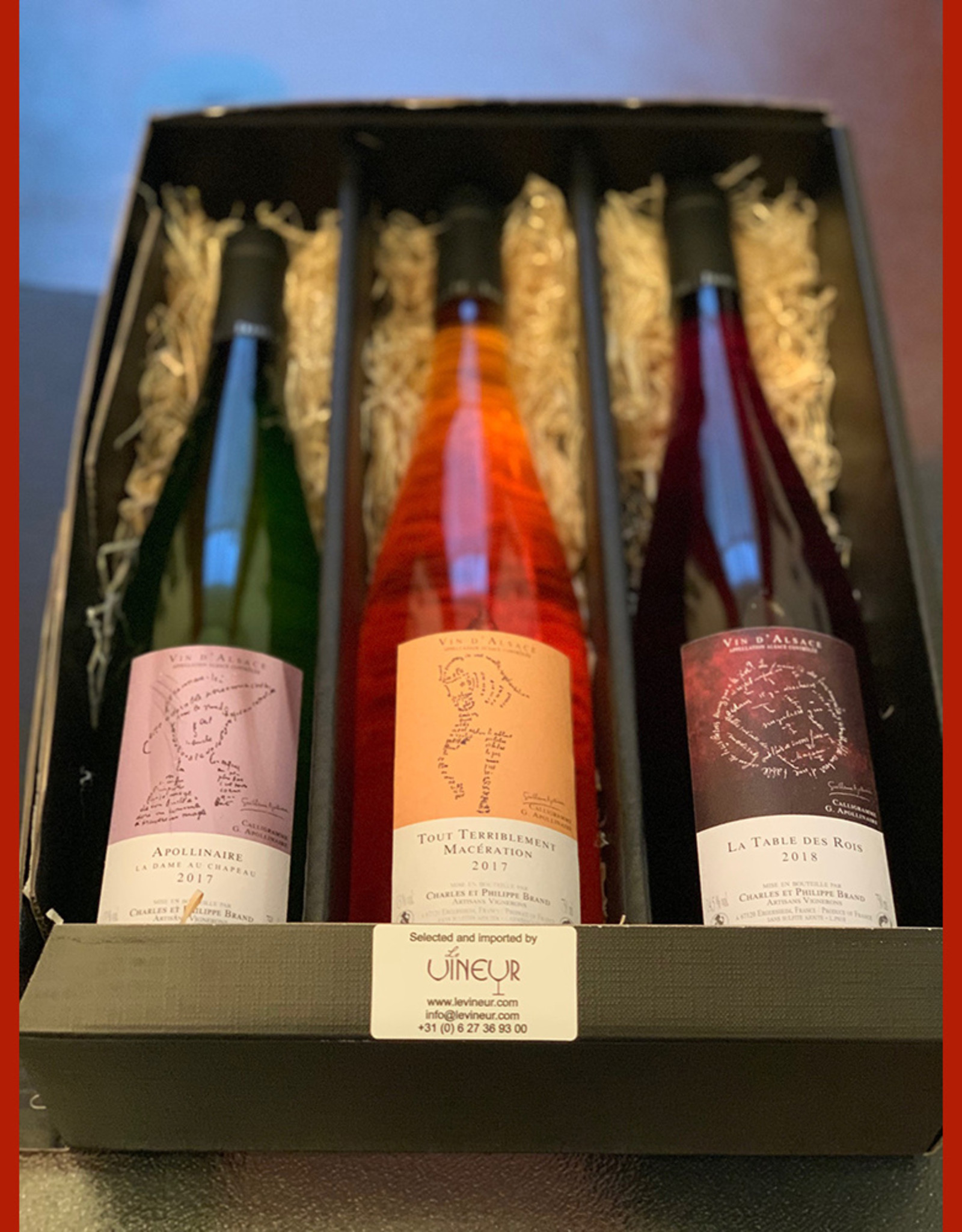 Gift set Philippe Brand natural wines