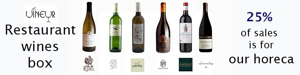 Le Vineur Restaurant wines Box