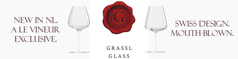 New in the Netherlands: Grassl Glass mouth-blown crystal wine glasses