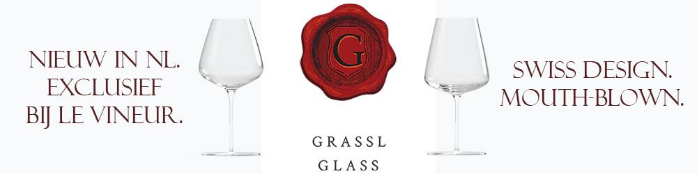 Nieuw in Nederland: mondgeblazen kristallen wijnglazen van Grassl Glass