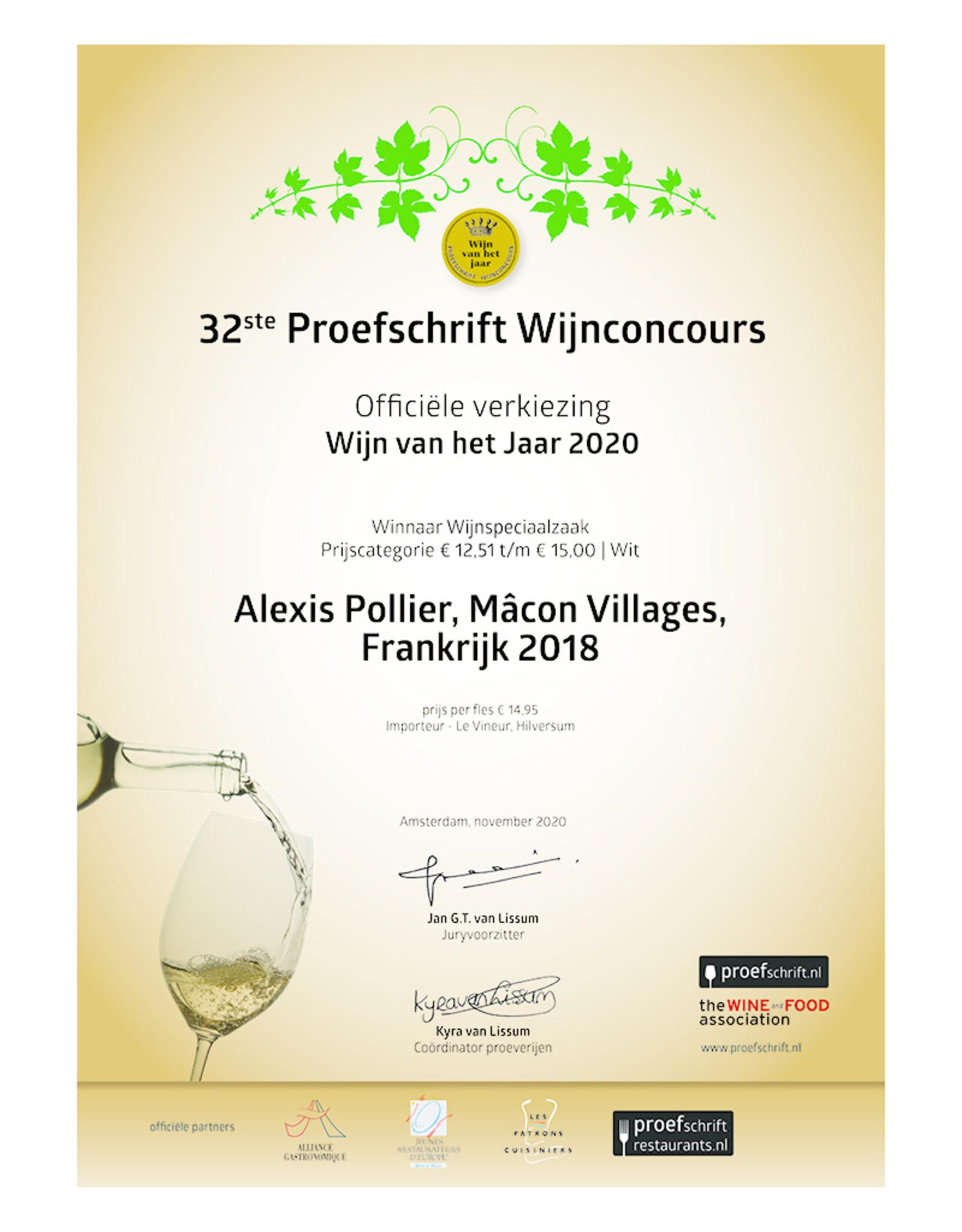 Alexis Pollier Macon Villages 2018