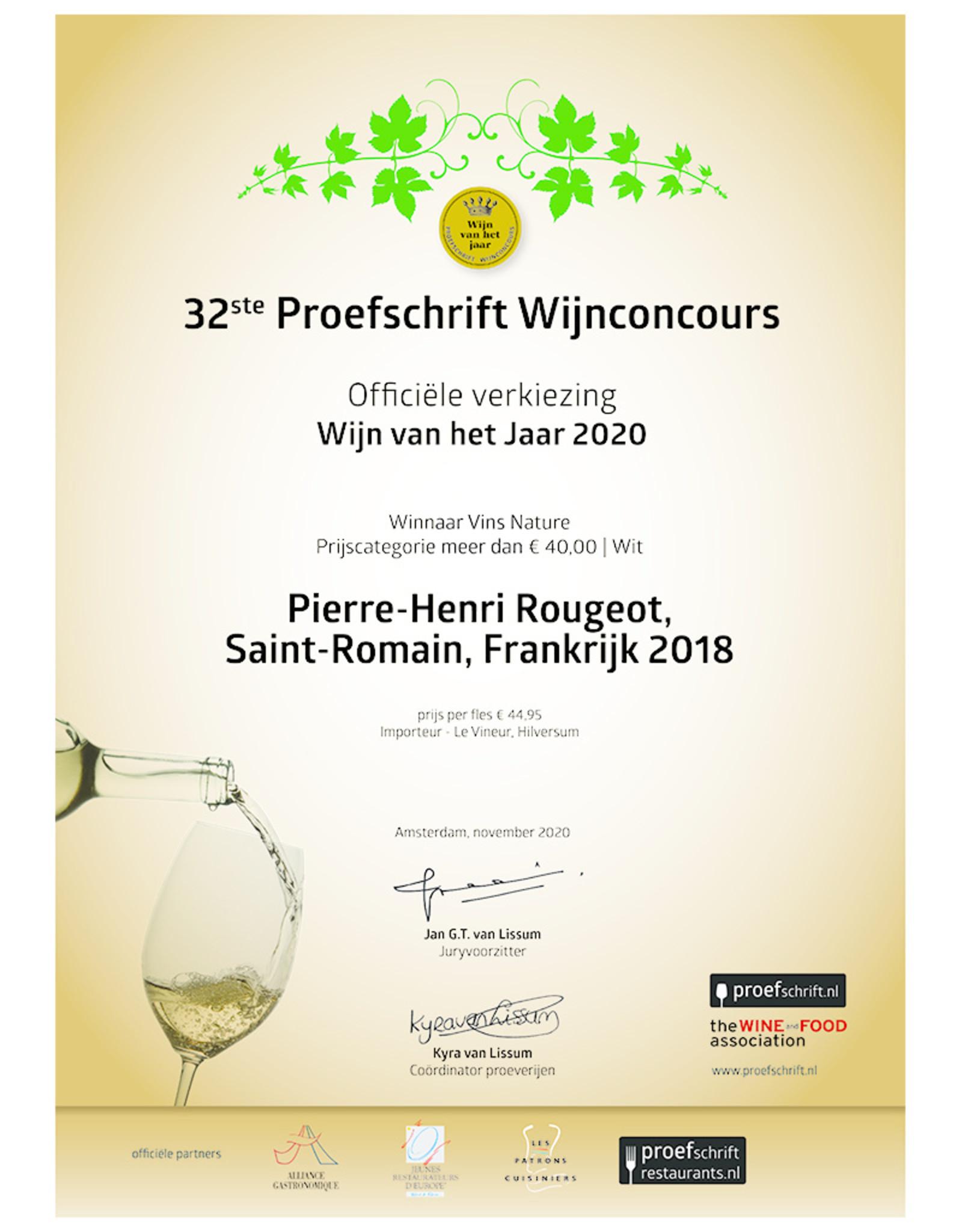 Pierre-Henri Rougeot Saint Romain 2018