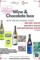 Wijn en Chocolade Valentijnsdag Tasting Pakket