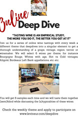 Online Deepdive  - weekly themed online winetasting