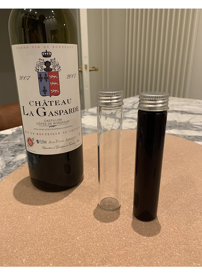 Wine tubes (tbv online winetastings)