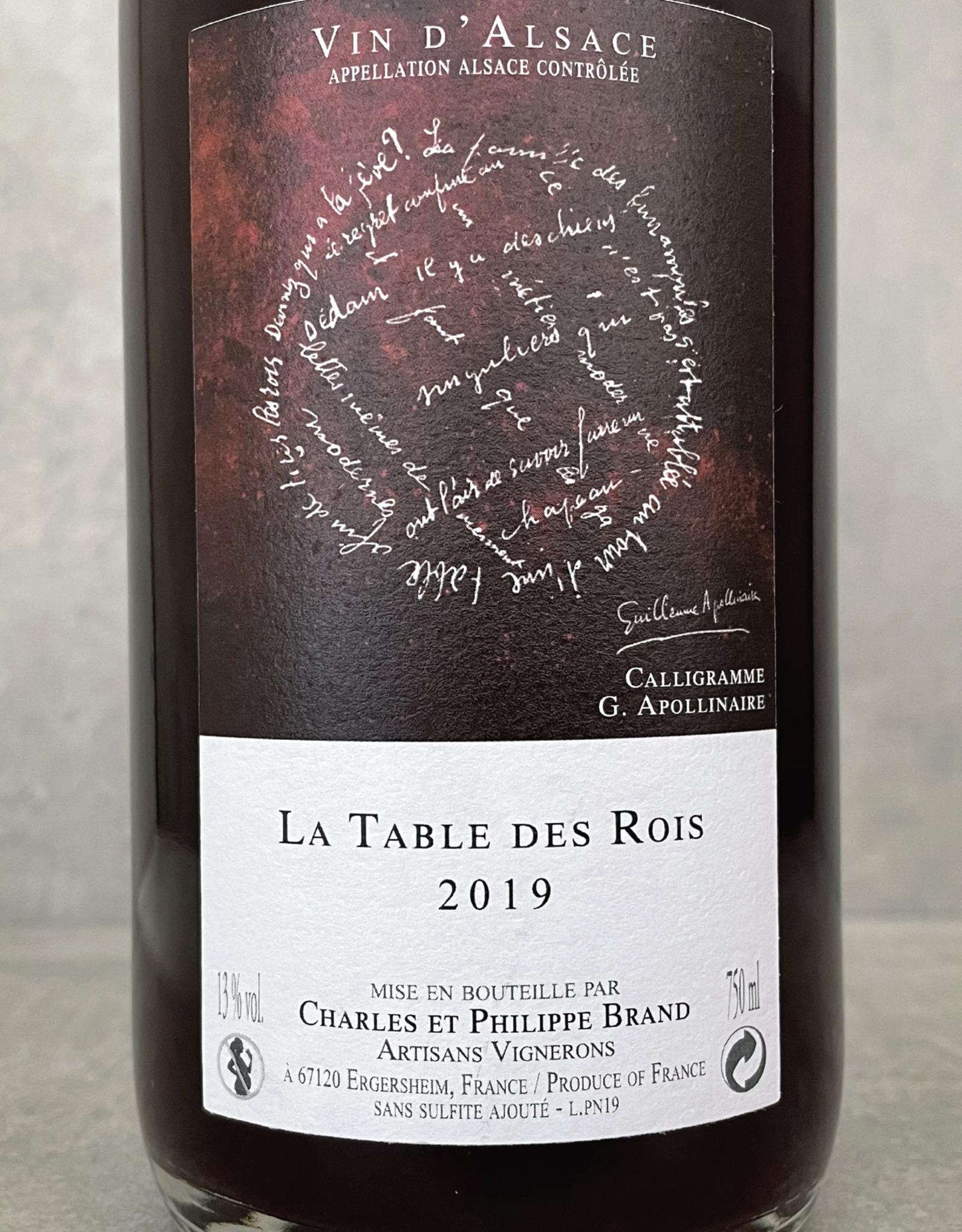 Domaine Brand & Fils La Table des Rois 2019
