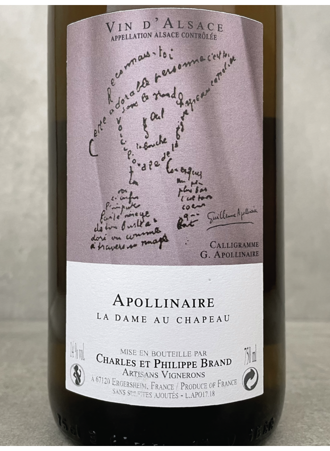 Philippe Brand Pinot Blanc/Chardonnay Apollinaire 2017