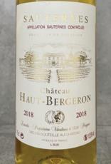 Haut Bergeron Sauternes 2003