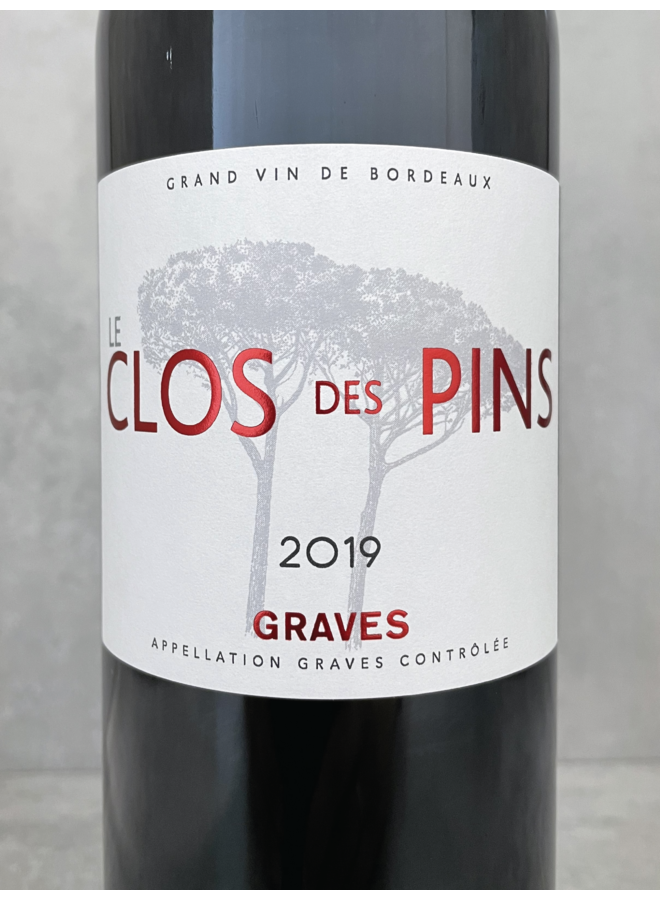 Le Clos des Pins Graves Rouge 2019