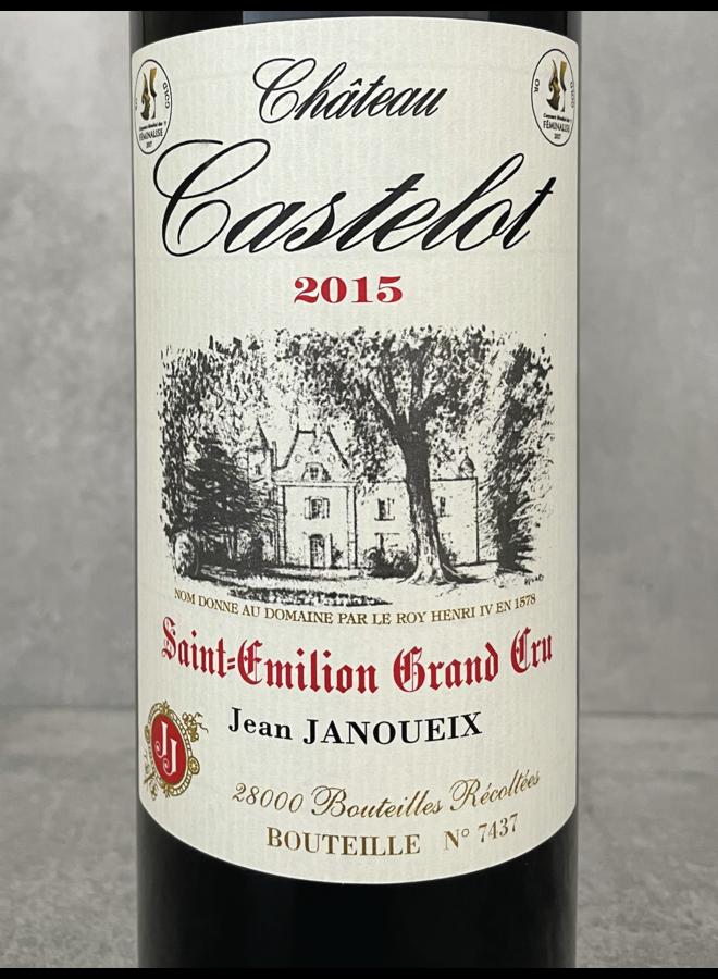 Le Castelot Saint Emilion Grand Cru 2010