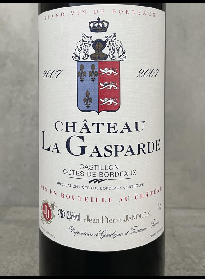 Chateau La Gasparde Cotes du Castillon 2016