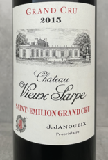 J. Janoueix Vieux Sarpe Saint Emilion Grand Cru 2015