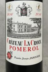 J. Janoueix La Croix Pomerol 2011