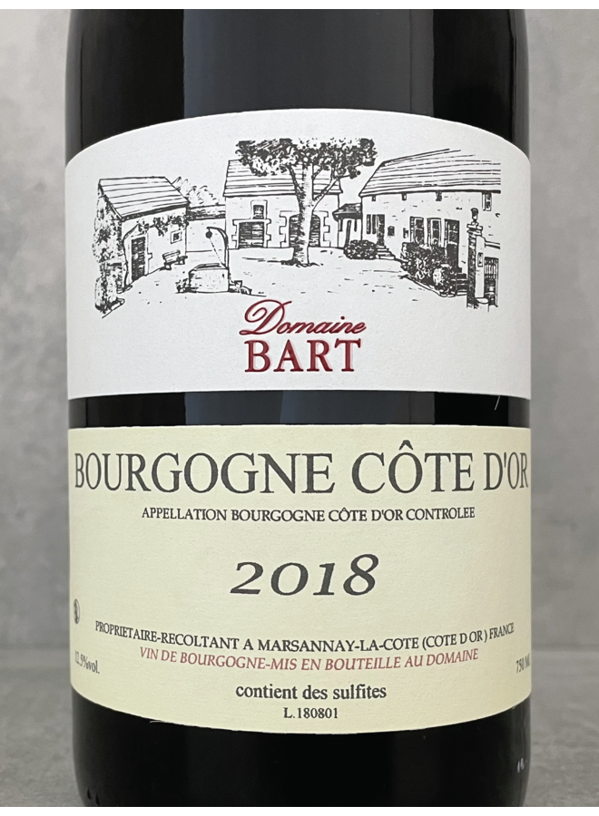 Bourgogne Cote d'Or 2018
