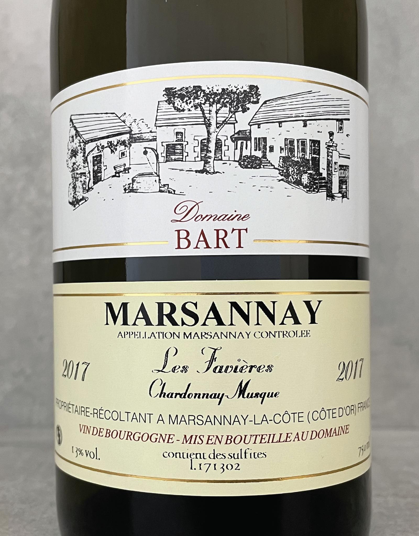 Domaine Bart Marsannay blanc Les Favières 2017