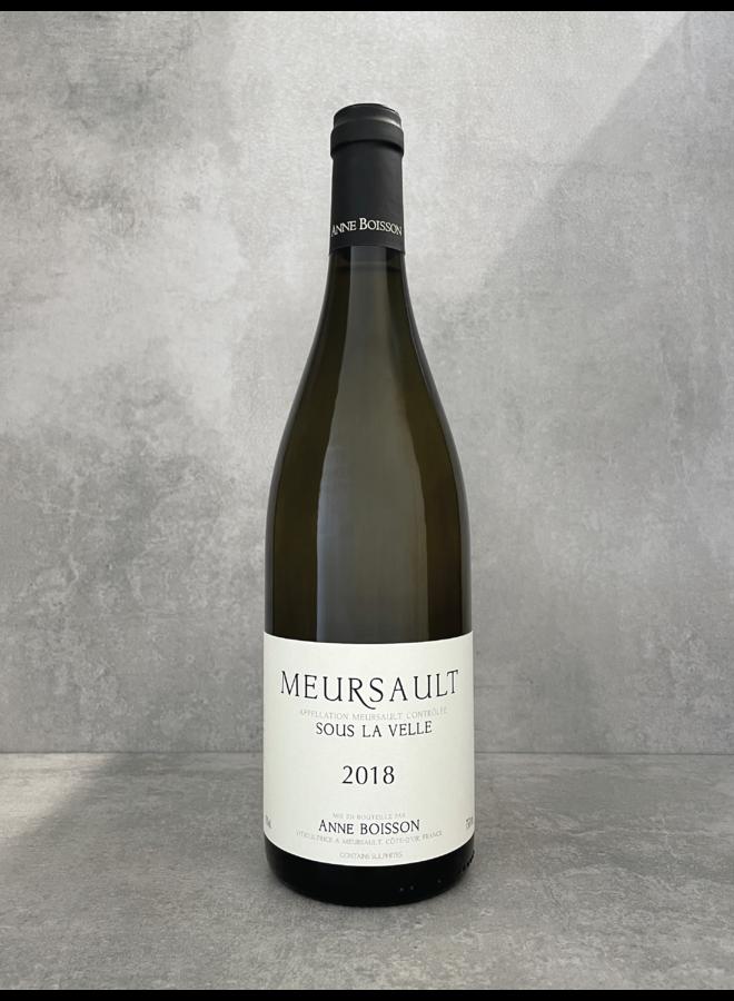 Meursault Sous la Velle 2018