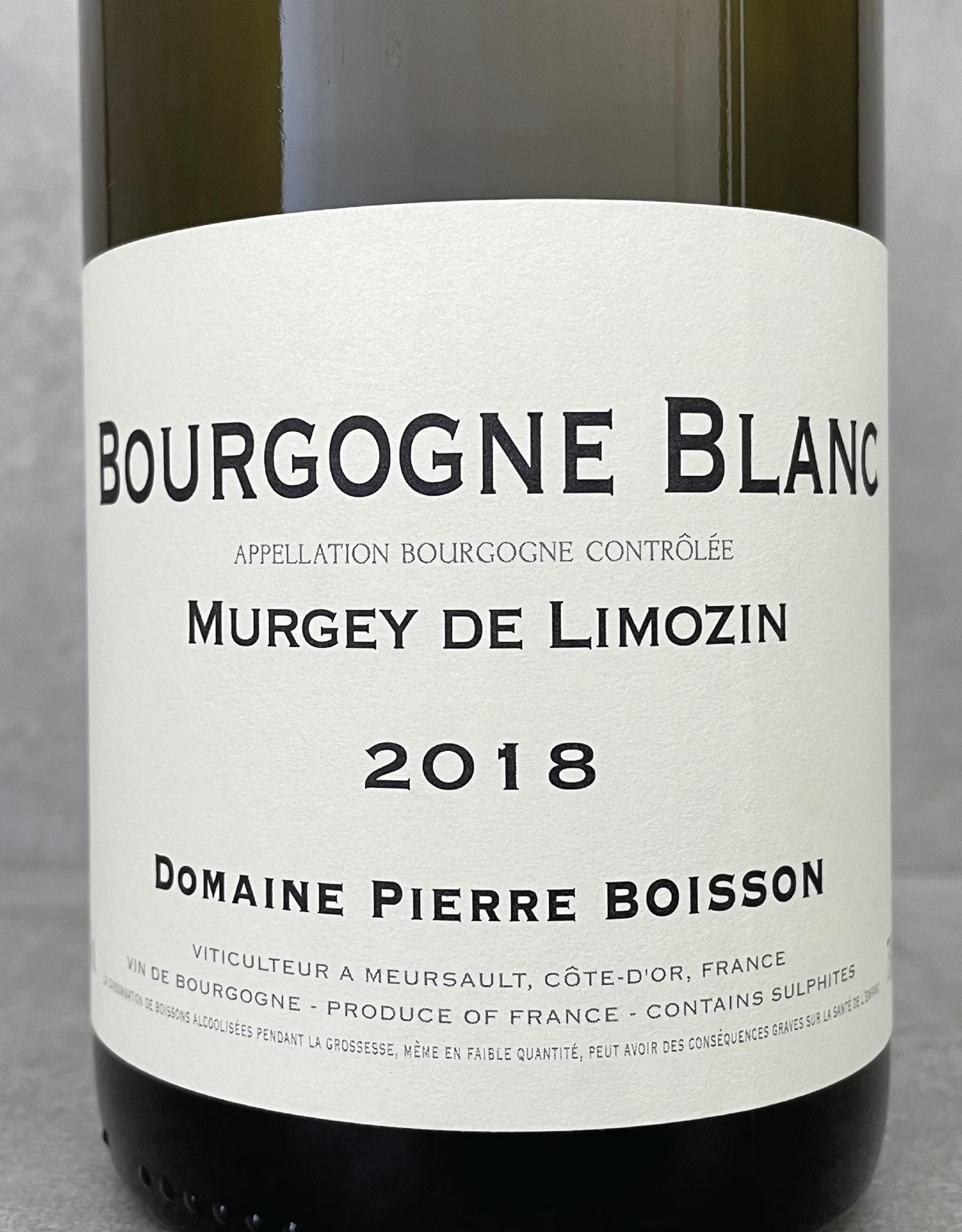 Pierre Boisson Bourgogne blanc Murgey de Limozin 2018