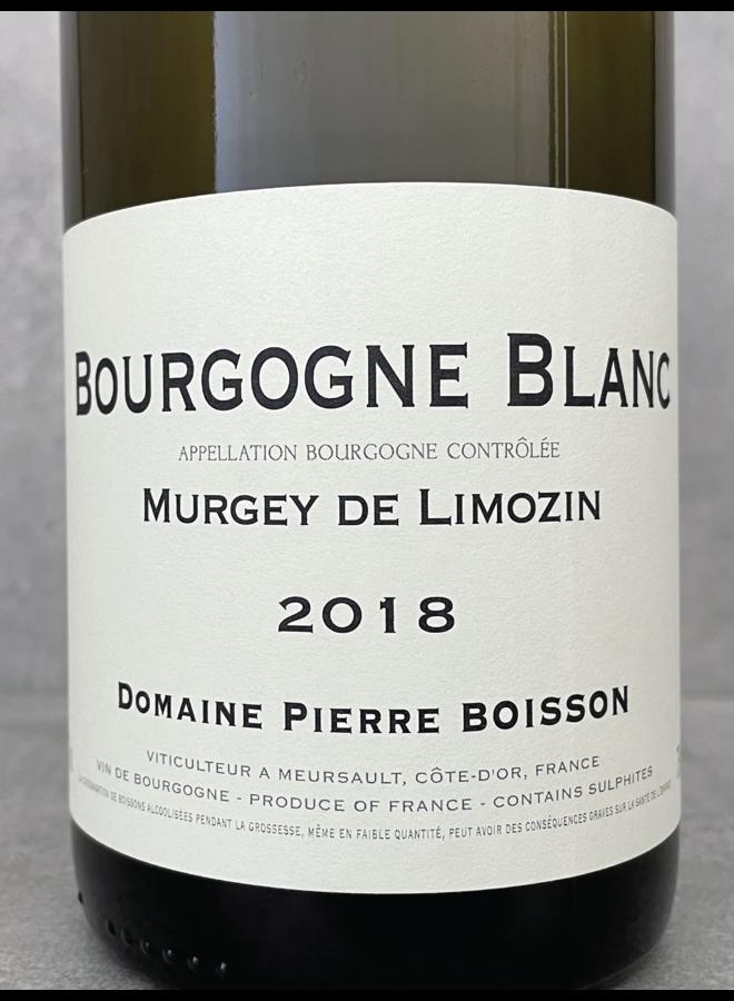 Bourgogne blanc Murgey de Limozin 2018