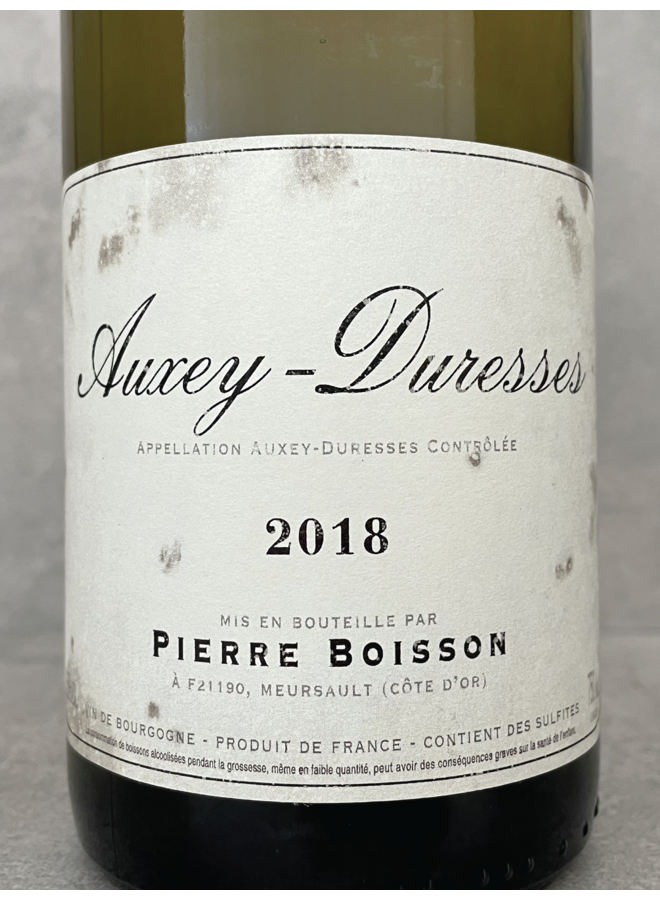 Auxey-Duresses blanc 2018