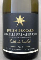 Julien Brocard Côte de Lechet Chablis 1er Cru 2018