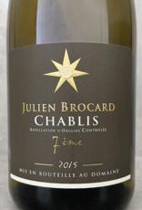 Julien Brocard Le 7ième Chablis Vin Nature 2015