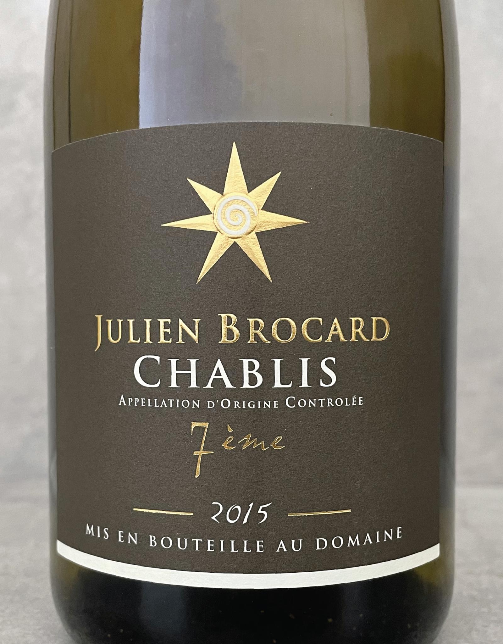 Julien Brocard Le 7ième Chablis Vin Nature 2017