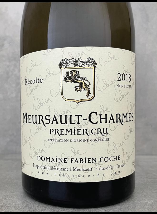 Meursault-Charmes 1er Cru 2018