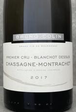 Bruno Colin Chassagne Montrachet 1er Cru Blanchot au dessus 2017