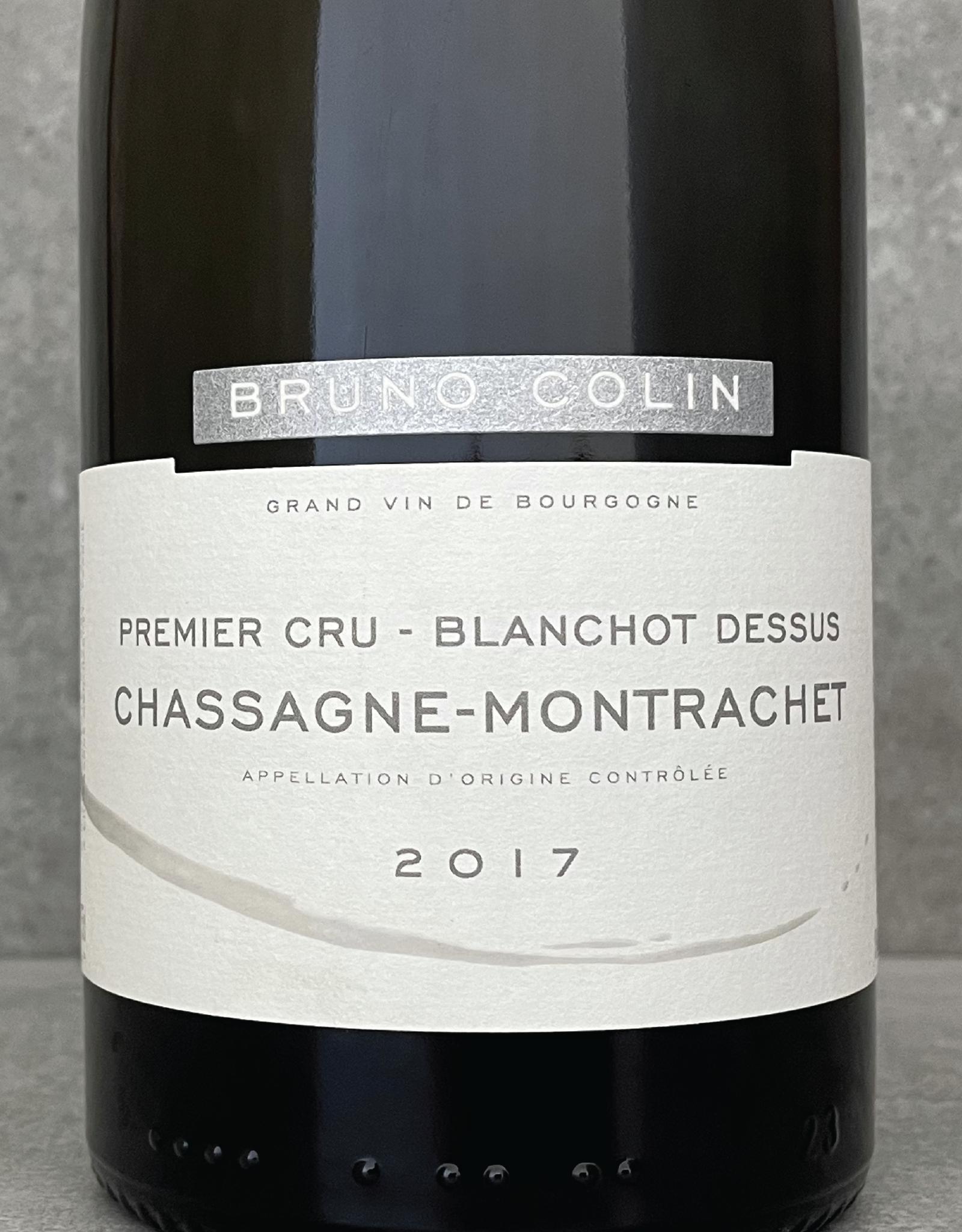 Bruno Colin Chassagne Montrachet 1er Cru Blanchot au dessus 2018