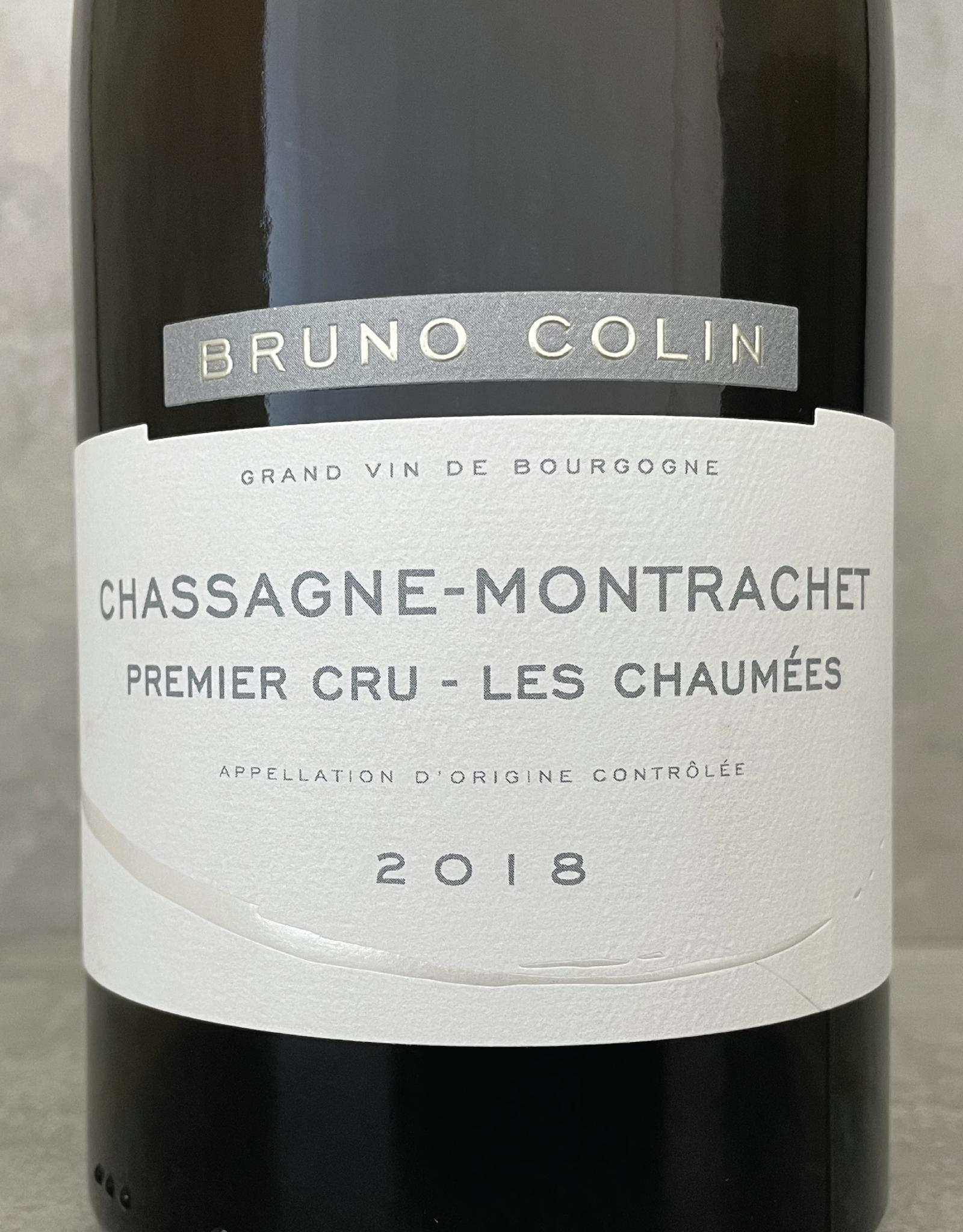 Bruno Colin Chassagne Montrachet 1er Cru Les Chaumées 2017