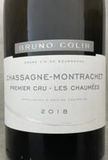 Bruno Colin Chassagne Montrachet 1er Cru Les Chaumées 2018