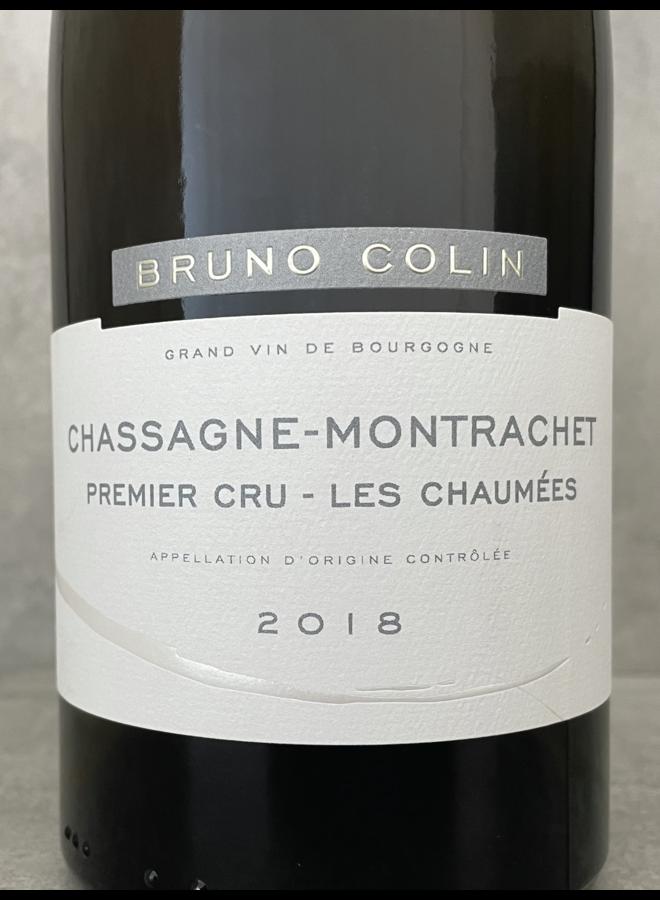 Chassagne Montrachet 1er Cru Les Chaumées 2018