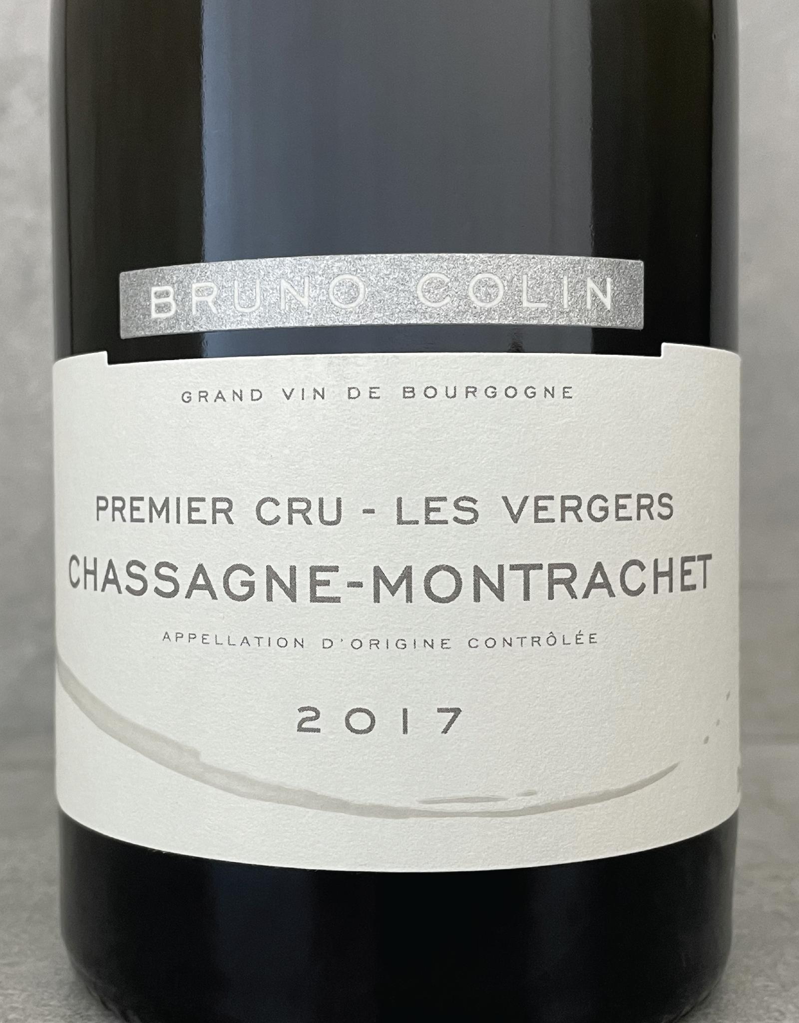 Bruno Colin Chassagne Montrachet 1er Cru Les Vergers 2017