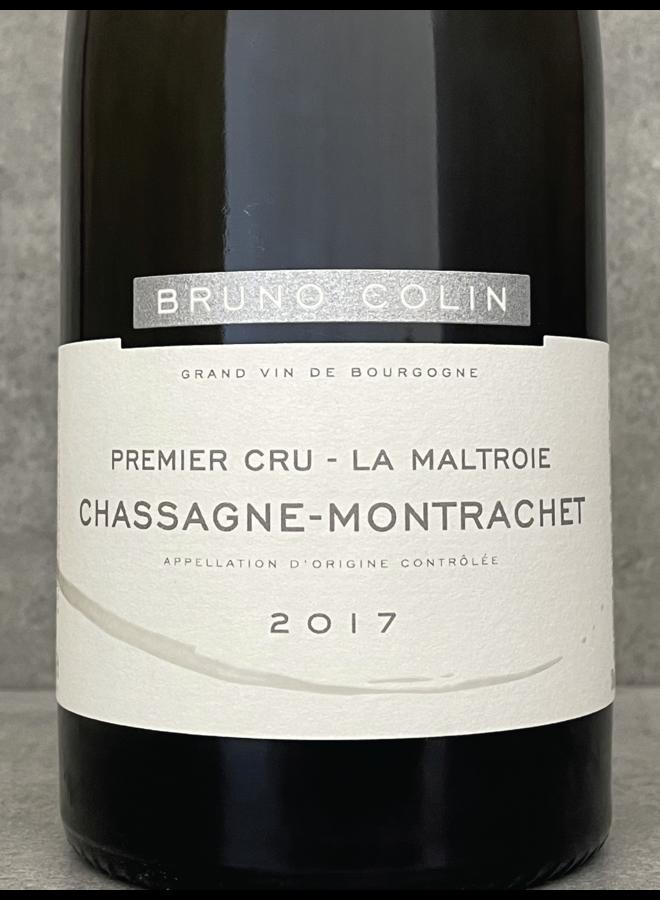 Chassagne Montrachet 1er Cru Maltroie 2017