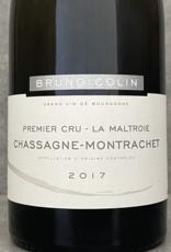 Bruno Colin Chassagne Montrachet 1er Cru Maltroie 2018