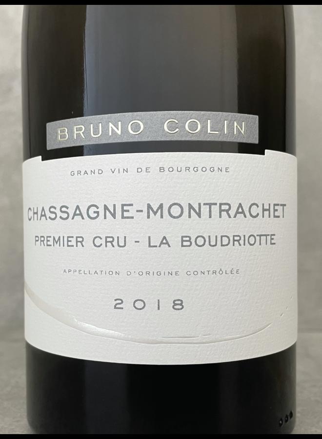 Chassagne Montrachet 1er La Boudriotte 2018