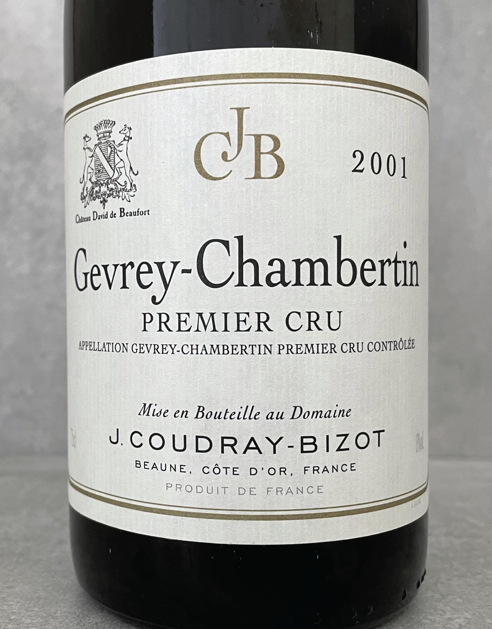 Domaine Coudray-Bizot Gevrey Chambertin 1er Cru 2001
