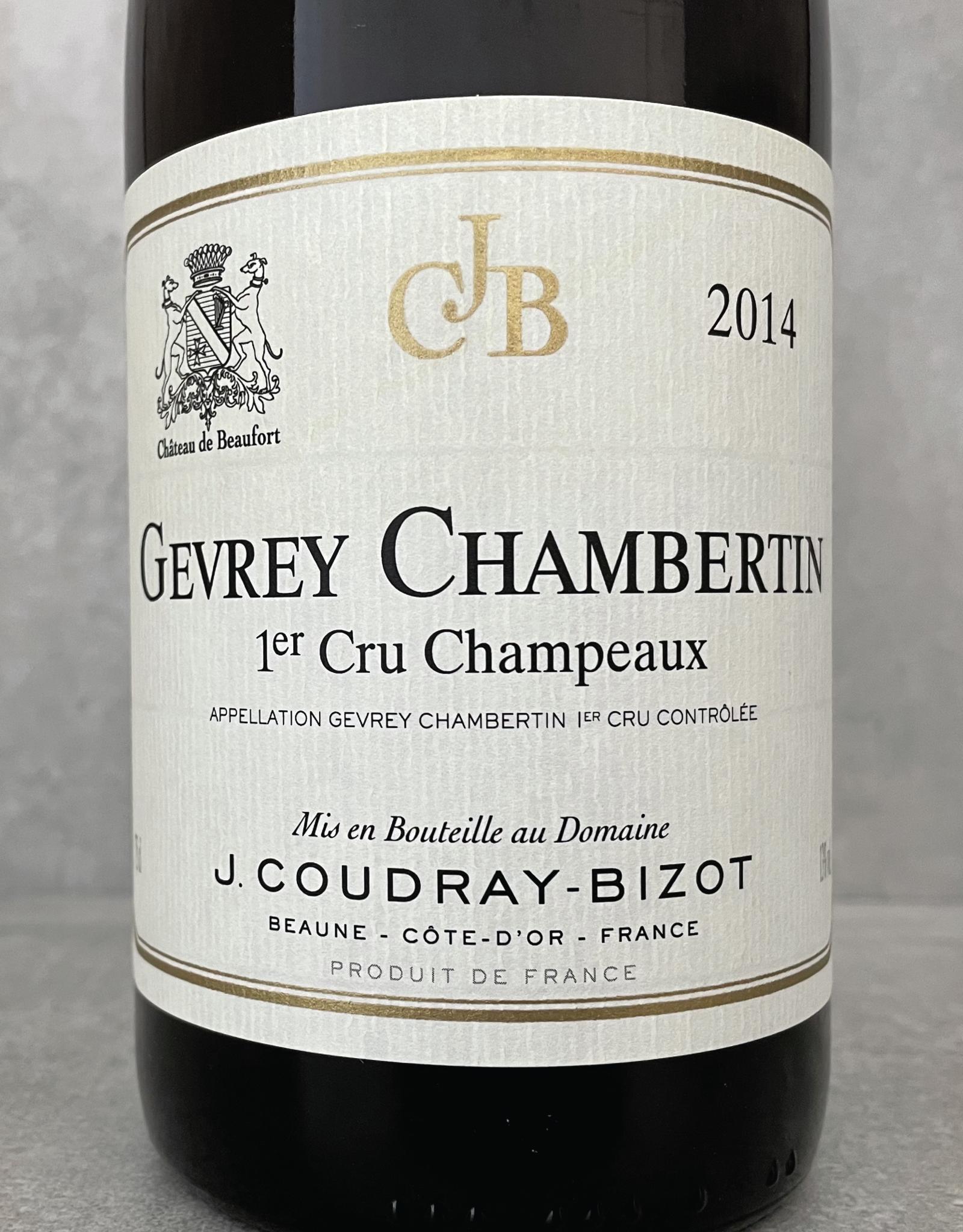 Domaine Coudray-Bizot Gevrey Chambertin 1er Cru Champeaux 2013